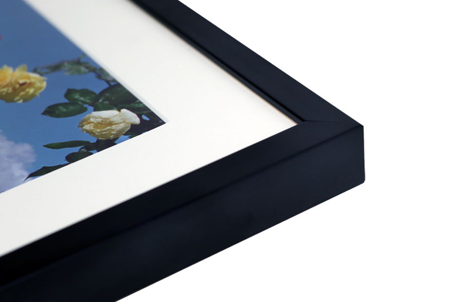 Classic Picture Frames | Optional Window Mount | London | Metro Framing