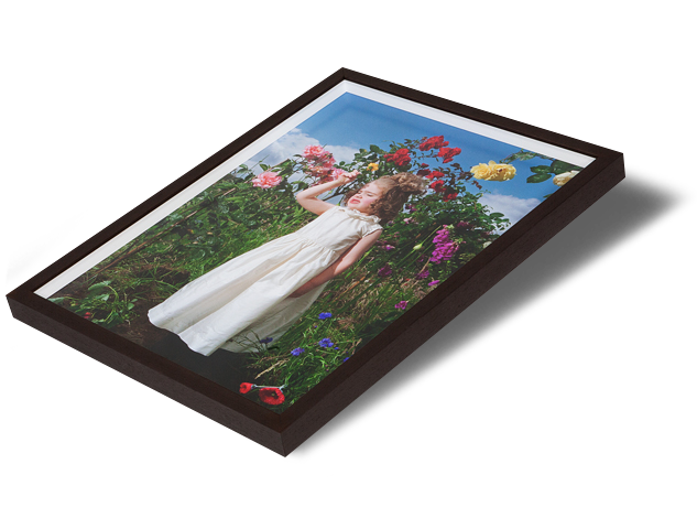 "Box frames have a fillet which creates a space between the print and the glazing, so there is no contact with the glass. Using Waterwhite float glass, your print is mounted first to Foamboard or a similar substrate before being set into a box moulding with a fillet spacer. The fillet keeps the glass and print separate, so the whole<span class=""goldplus""> + more</span>"