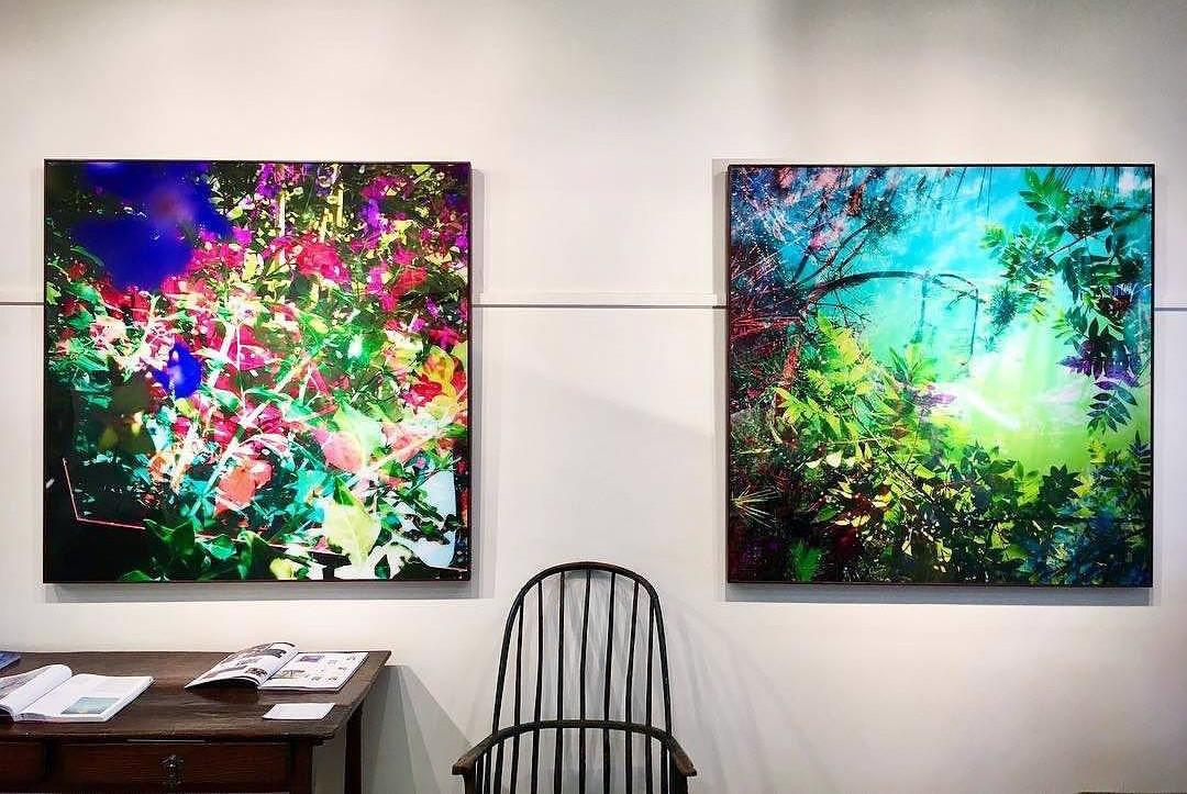 Reflections by Karine Laval at Crane Kalman Gallery