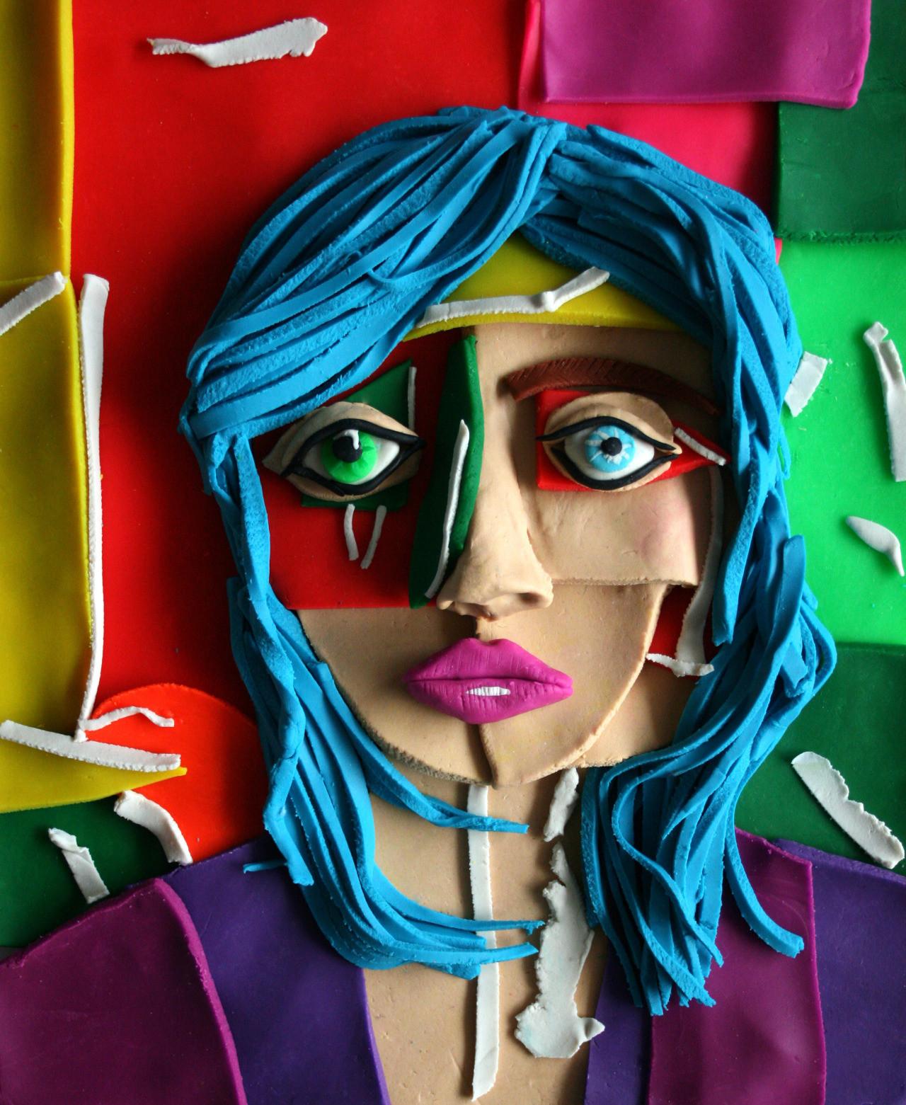 Photographs Rendered in Play–Doh: Eleanor Macnair